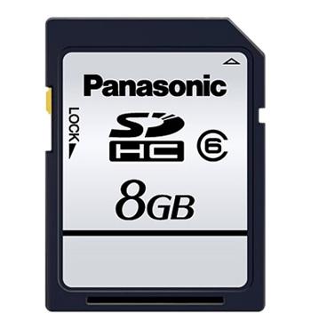 Panasonic Card memorie Silver SDHC 8Gb Clasa 6 - BULK125019363