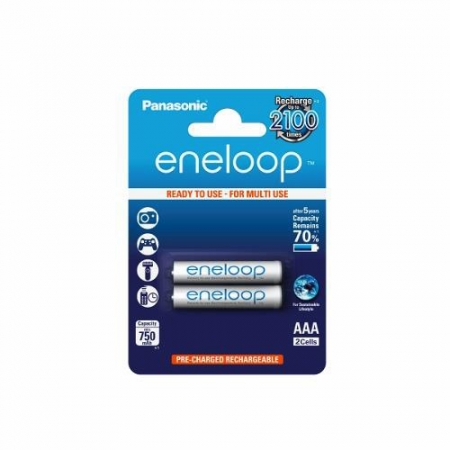 Panasonic Eneloop R03/AAA 750mAh, 2 buc. blister