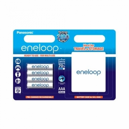 Panasonic Eneloop R3 AAA 750 - set 4buc/blister + cutie