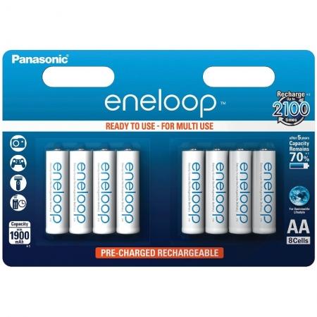 Panasonic Eneloop R6/AA 1900mAh, 8 buc. blister