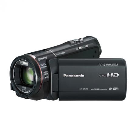 Panasonic HC-X920EP-K Negru - camera video Full HD, 3MOS BSI, zoom optic 12X, Wi-Fi