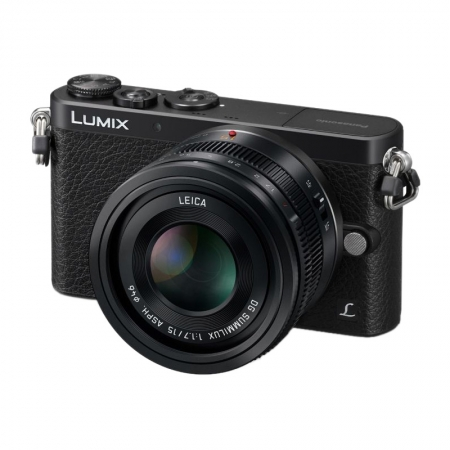 Panasonic LUMIX DMC-GM1L Negru kit 15mm f/1.7 ASPH