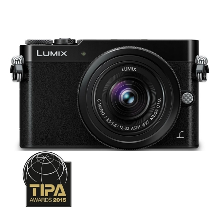 Panasonic LUMIX DMC-GM5 negru kit 12-32mm f/3.5-5.6