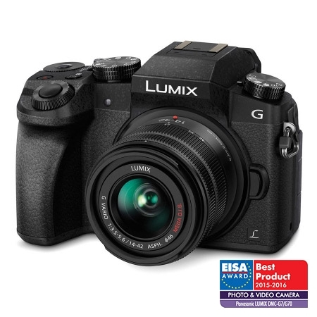 Panasonic Lumix DMC-G7 negru kit 14-42mm f/3.5-5.6 II MEGA OIS