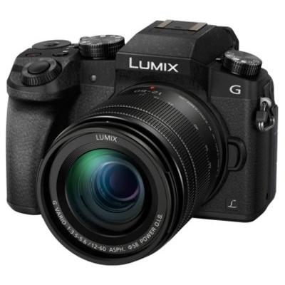 Panasonic Lumix DMC-G7M negru + obiectiv G Vario 12-60mm f/3.5-5.6 Power OIS