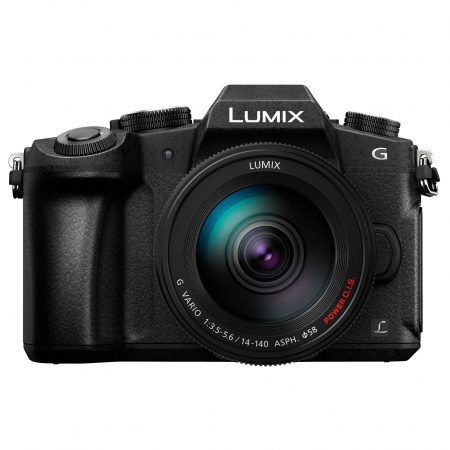 Panasonic Lumix DMC-G80H Kit 14-140mm F3.5-5.6 ASPH./ POWER O.I.S. - negru