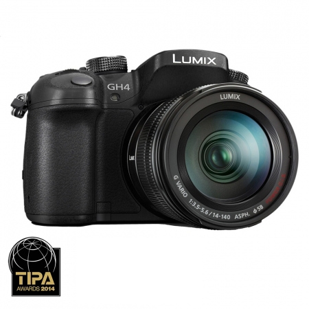 Panasonic Lumix DMC-GH4 - 4K Kit G Vario 14-140mmm / F3.5-5.6 ASPH Power O.I.S - RS125011084-1