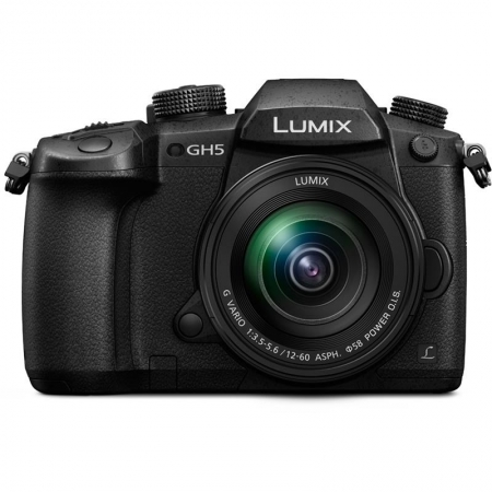 Panasonic Lumix DMC-GH5 Kit Lumix 12-60mm f/3.5-5.6 G Vario ASPH. Power O.I.S