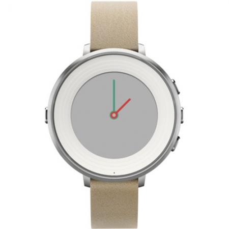 Pebble Smartwatch Time Round Argintiu 601-00046