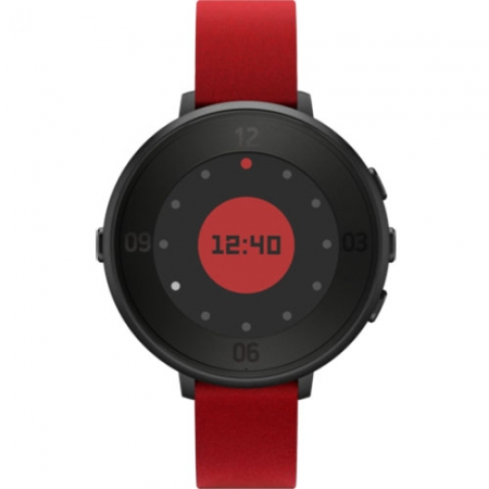 Pebble Smartwatch Time Round Rosu 601-00053