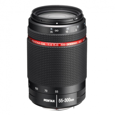 Pentax 55-300mm f/4-5.8 HD DA ED WR - Black