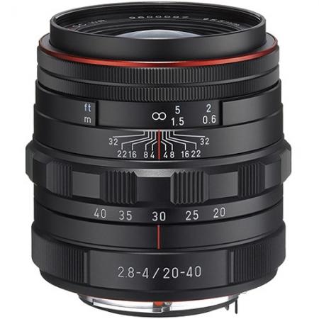 Pentax HD DA 20-40mm f/2.8-4 ED Limited DC WR - negru