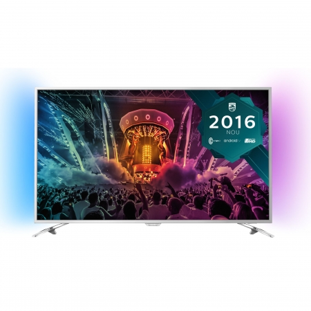 Philips 55PUS6501/12 - Televizor LED Smart Android Philips, 139 cm, 4K Ultra HD