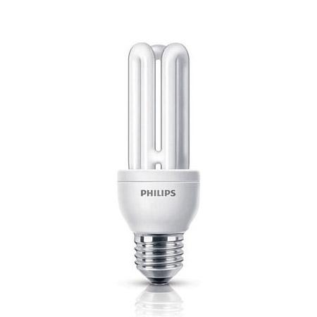 Philips Genie - bec fluorescent cu lumina de zi - E27 14W