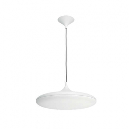 Philips HUE - Cher 40761/31 Lustra cu LED 39W, WiFi, lumina alba reglabila, Alba