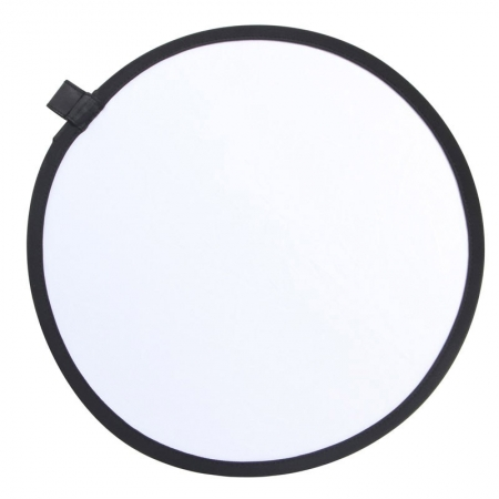 Phottix 2 in 1 Collapsible Reflector - blenda 2in1, alb/argintiu, 30cm
