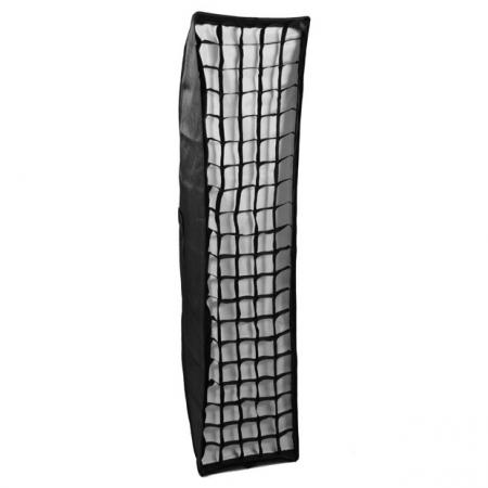Phottix 2in1 Softbox Strip cu grid 35 x 140cm