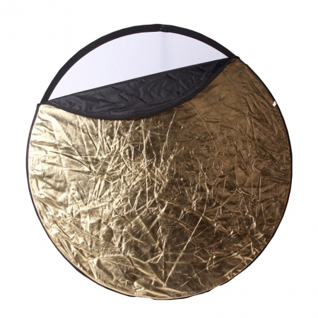 Phottix 5 in 1 Light Multi Collapsible Reflector - blenda 5in1, 80cm