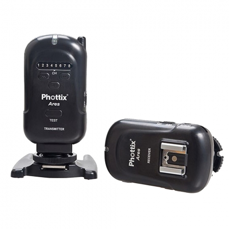 Phottix Ares Flash Trigger Set - trigger + receiver