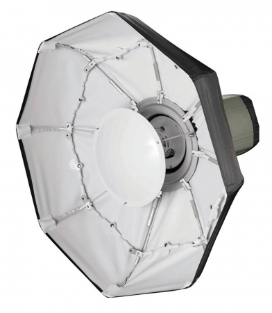 Phottix Luna Folding Beauty Dish - beauty dish pliabil cu grid, 70cm, alb