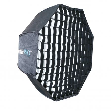 Phottix Pro Easy Up HD Umbrella Octa Softbox cu Grid 80cm