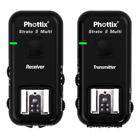 Phottix Strato II Multi 5-in-1 - Set Triggere pentru Canon