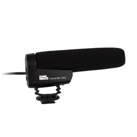 Pixel Voical MC-550 - microfon super cardioid pentru DSLR
