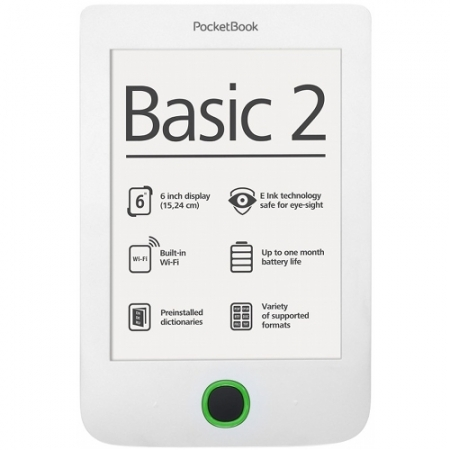 PocketBook BASIC 2 614 - E-Book Reader - alb