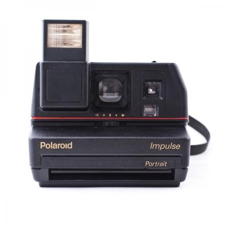 Polaroid 600 Impulse Kit - Aparat foto Instant + Set Hartie Color