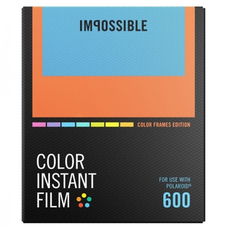 Impossible - Film Color pentru 600, Color Frame