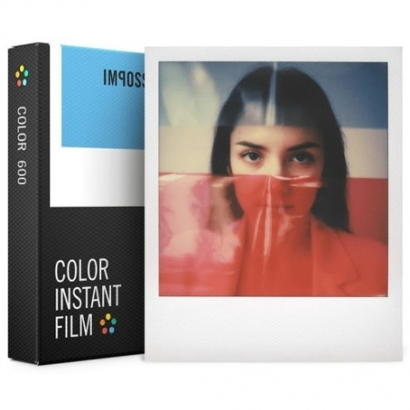 Impossible - Film Color pentru 600, White Frame