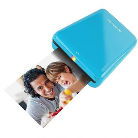 Polaroid Imprimanta Zip Instant + Hartie Foto, albastru