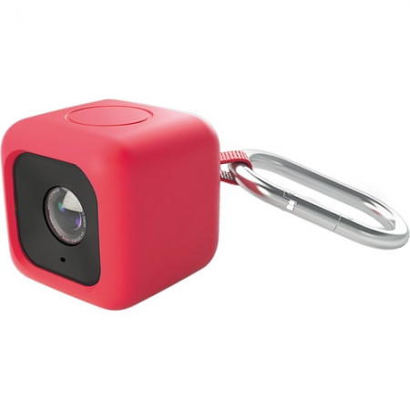 Polaroid POLC3PMR - Husa Bumper pentru Cube, Rosu