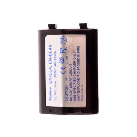 Power3000 PL165B.806 NEW (2014) - Acumulator replace tip Nikon EN-EL4, 2600mAh