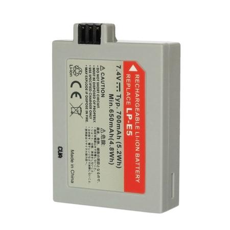 Power3000 PL315G.635 - acumulator replace tip Canon LP-E5, 700mAh, NEW