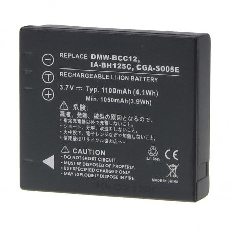 Power3000 PL358U.338 - acumulator replace tip Samsung/Fuji IA-BH125C / DMW-BCC12, 1100mAh