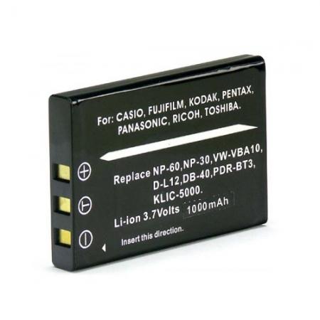 Power3000 PL60B.346 - acumulator tip NP-30 pentru Casio, 1000mAh