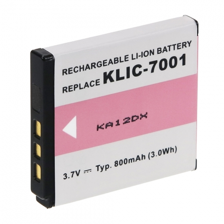 Power3000 PL771B.532 - acumulator replace tip Kodak KLIC-7001 800mAh