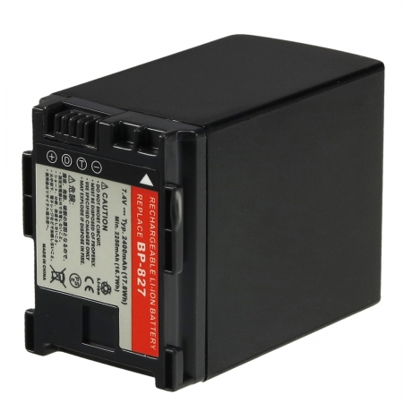 Power3000 PL827B.725 - acumulator tip BP-827 pentru Canon, 2400mAh