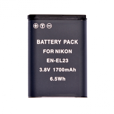 Power3000 PLW623B.383 - Acumulator replace Nikon EN-EL23, 1700mAh