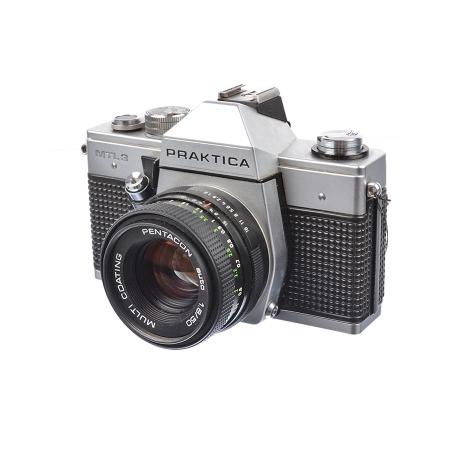 Praktica MTL3 + Pentacon 50mm f/1.8 - SH7332-5