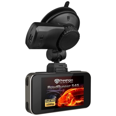 Prestigio RoadRunner 545 GPS - Camera auto DVR, Full HD - negru
