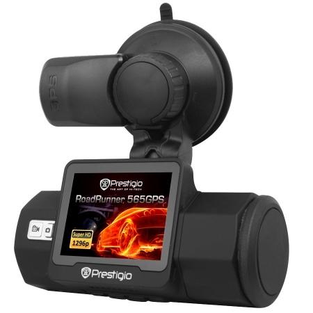Prestigio RoadRunner 565 - Camera auto DVR, Super HD - negru