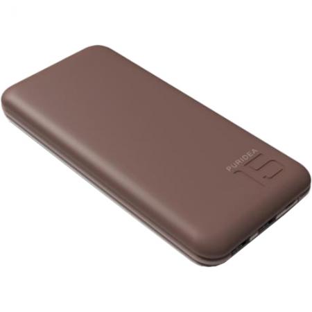 Puridea S3 - Baterie externa 15000mAh, 2 x USB, Alb-Maro