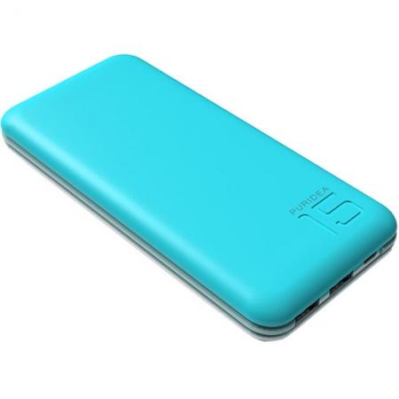 Puridea S3 - Baterie externa 15000mAh, 2 x USB, Alb-Albastru