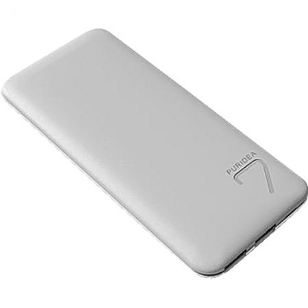 Puridea S5 - Baterie externa 7000mAh, 2 x USB, Gri