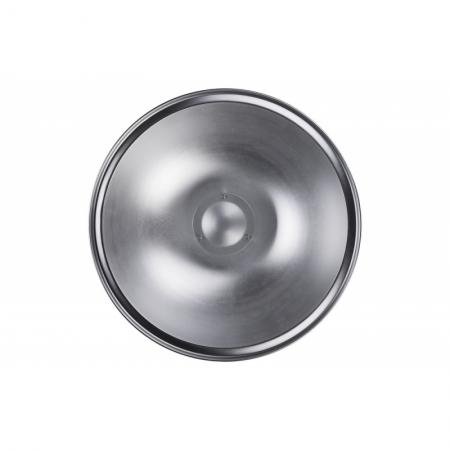 Quadralite Beauty Dish 55cm, Argintiu