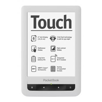 RESIGILAT PocketBook TOUCH 622 - E-Book Reader - alb - RS125011889