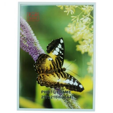 Rama foto cu magnet EC304 A4 20 x 30 cm alb