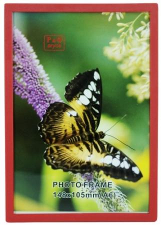 Rama foto cu magnet EC306 A6 rosu 10 x 15cm